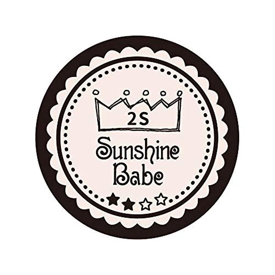 セッティングキリスト教眠るSunshine Babe コスメティックカラー 2S オールモーストモーブ 4g UV/LED対応
