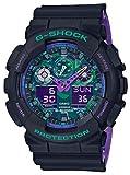 [カシオ] 腕時計 ジーショック G-SHOCK GA-100BL-1AJF メンズ