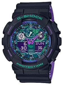 [カシオ]CASIO 腕時計 G-SHOCK ジーショック GA-100BL-1AJF メンズ
