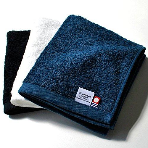 ブルーム 今治タオル 認定 レオン ハンドタオル 3枚セット ホテル仕様 サンホーキン綿 日本製 (ナイト)