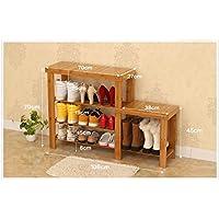 TLMY シンプルなモダンな庭の収納靴のベンチ 靴箱 (色 : Strip Shape, サイズ さいず : 108 * 27 * 70cm-#1)