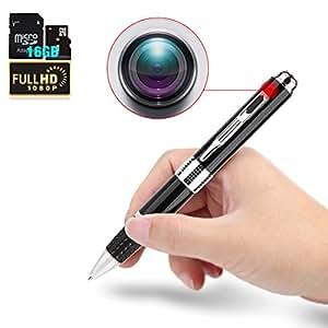 Eternal eye PB2.0 ボールペン型 隠し カメラ HD 16GB SDカード内蔵 筆記対応