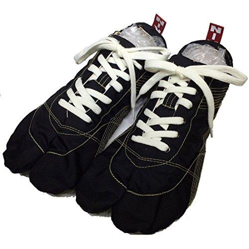 ランニング足袋 無敵 MUTEKI きねや足袋 シューズ 足袋 ジョギング 黒 ブラック たび ランニング 足袋スニーカー 素足 tabi ローカット スポーツ 運動 杵屋足袋 足袋シューズ 軽い 軽量 靴 男性 メンズ(ブラック【即納】 30.0cm)
