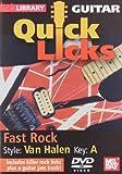 Quick Licks - Eddie Van Halen Fast Rock For Guitar DVD by Jamie Humphries