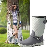 [Cgarcons-カコシ] レインシューズ レディース レインブーツ ショートブーツ ラバーブーツ ヒール 長靴 おしゃれ 防水 雨靴 梅雨対策 滑り防止