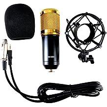 Studio Microphone Broadcasting Microphone Webcast Microphone Podcast Condenser Microphone Mic With Shock Mount