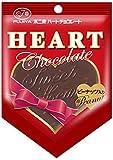 不二家 ハートチョコレート(ピーナッツ) 1枚×10袋