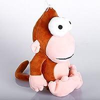 幼児期のゲーム 25cmぬいぐるみかわいい動物のおもちゃのおもちゃクリエイティブドール(猿)