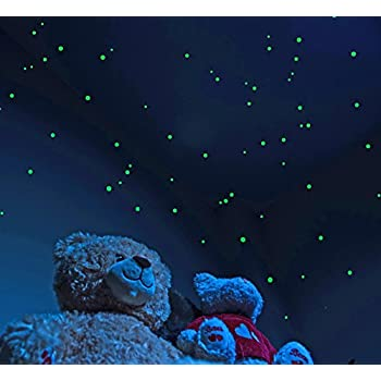 Star Vistas 天井に満天の星空を 暗い部屋で光るシール 蓄光 ウォールステッカー 大容量 3サイズ 528個入り 星座ブック付き [並行輸入品]