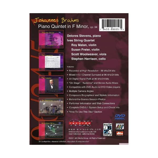 Piano Quintet in F mino...の紹介画像2