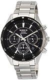 [セイコーウォッチ] 腕時計 ワイアード ソーラークロノグラフ スポーティーデザイン AGAD087 メンズ シルバー