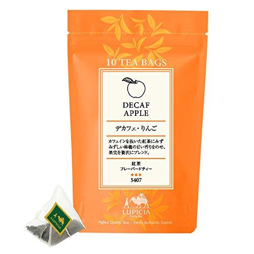 LUPICIA (ルピシア) [5407] DECAF APPLE TEA ティーバッグ10個 パック入