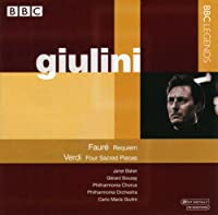 Requiem / Four Sacred Pieces by Faure (2007-11-20)