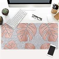 LL-COEUR 大理石の色 大型マウスパッド キーボード ゲーミング オフィス テーブルマット が良い 滑り止めゴム底 (8)