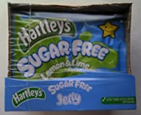Hartleys Sugar Free Lemon and Lime Jelly 12 x 45gm