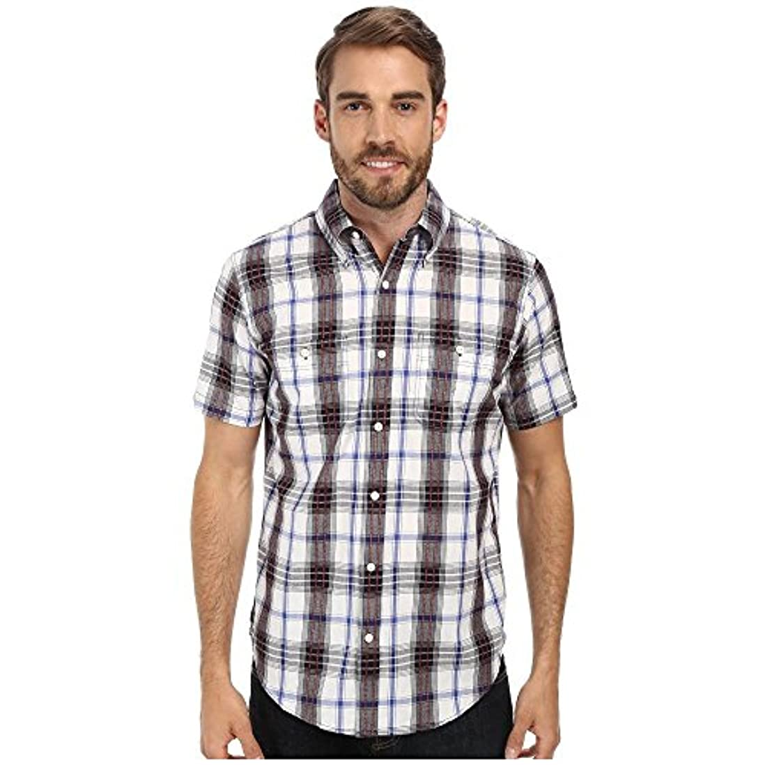 層遅滞パイプ(ユーエスポロアッスン) U.S. POLO ASSN. メンズ トップス シャツ Plaid Slim Fit Sport Shirt [並行輸入品]