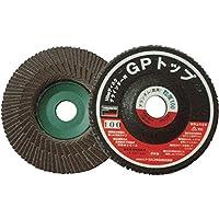 TRUSCO(トラスコ) GPトップ25 アランダム Φ100 (5枚入) 180# GP10025-180