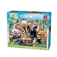 1000 Piece King Animal World Jungle Party Puzzle