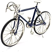 T.Y.S Racing Bike Model Alloy Simulated Road Bicycle Model Decoration GiftDark Blue [並行輸入品]