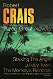 """Three Great Novels: """"Stalking the Angel"""", """"Lullaby Town"""", """"The Monkey's Raincoat"""""""