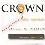 Crown 4/4 Cello String Set - Medium Gauge - Chromesteel/Steel - Ball End 【TEA】 [並行輸入品]
