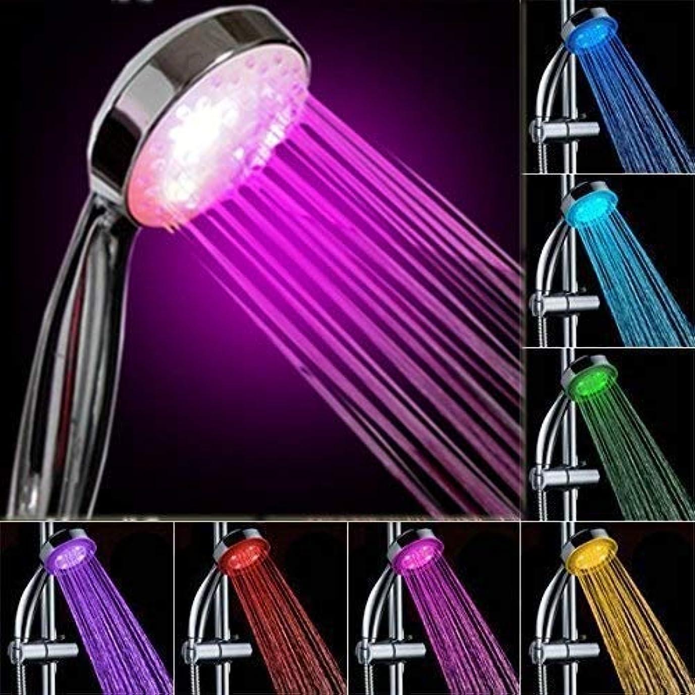 オペレーター密輸可愛いLEDライトシャワー、カラフルなグラデーションシャワー、ユニバーサルライトシャワー、色変更ギフト