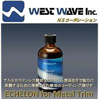 メッキ モール専用 ガラスコーティング剤 エシュロン ECHELON for Metal Trim