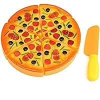 ピザおもちゃ シミュレーション おもちゃ プラスチック 子供おもちゃ