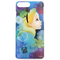 グルマンディーズ ディズニーキャラクター / キャラクターオーバーレイシリーズ iPhone 7Plus(5.5インチ)対応ハードケース アリス dn-424c