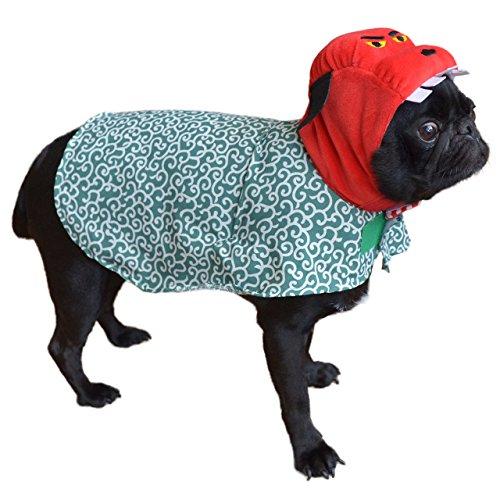 耳 汚れ防止 犬服 iDog 変身かぶりものスヌード 獅子舞ケープ アイドッグ レッド S かぶりもの 帽子 食事 散歩 犬の服 アイドッグ 国産 ドッグウェア ペットウェア 犬 服 猫服 i dog