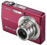 カシオ計算機 デジタルカメラ EXILIM 600万画素 光学3倍ズーム 2.7型大画面液晶 本体色:レッド EX-Z600RD