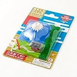おもしろけしごむ富士山と神社夏Japan motif eraser