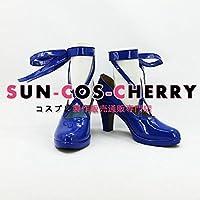 【サイズ選択可】コスプレ靴 ブーツ K-928 VOCALOID ボーカロイド セブンスドラゴン 2020 初音ミク Miku 女性24CM