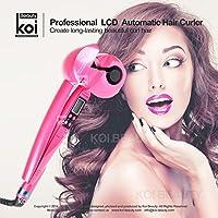 Koi Beauty マルチヒートコントロールの女性専門の自動ヘアカーラーセット (Rose LCD Style)