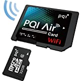 PQI Air Card Wi-Fi内蔵SDカードアダプタ (microSDHC 32GB Class10付属) 6W25-032GR1