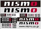 nismo ( ニスモ ) ロゴ ステッカーセット(A4サイズ) 99992-RN237
