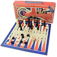 Retro Games Chess, Draughts & Backgammon Board Game Set