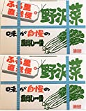 信州長野 ふる里直送便 野沢菜 700g 2箱セット 味が自慢の蔵出し一番