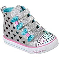 Skechers Kids Girls' Shuffle LITE-Fancy Flutters Sneaker