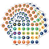 Additional Reusable Window Cling Stickers (12 Pack) - for All Evolve Skins Wall Calendars