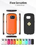 Galaxy S6 Edge SC-04G SCV31 404SC ケース iFace 正規品 Sensation オレンジ docomo au softbank ギャラクシー s6 エッジ センセーション スマホ カバー スマホケース スマートフォン