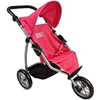 [ニューヨークドールコレクション]The New York Doll Collection Doll Jogger Stroller for Ages 4+ 9354 [並行輸入品]