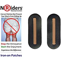 NoRiders 4-inch Iron-on Patches with Stays [6-Pack]