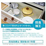 シェルフライナー EVA製 食器棚シート キャビネットシェルフ 接着剤不要 滑り止め 埃止め 汚れ防止 防湿 食器棚/引き出し/キッチンに適用 裁断可能 (30*150) 画像