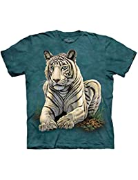 The Mountain 1530612 Tiger Gaze Kids T-Shirt - Large