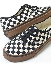 VANS AUTHENTIC (checkerboad) バンズ オーセンティック ディコン ブラック ホワイト チェック メンズ スニーカー