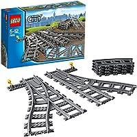 レゴ (LEGO) シティ ポイントレール 7895