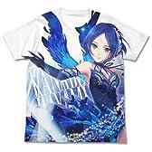 アイドルマスター シンデレラガールズ 蒼翼の乙女 速水奏 フルグラフィックTシャツ ホワイト Sサイズ