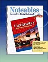 Geometry: Concepts and Applications, Noteables: Interactive Study Notebook with Foldables (GEOMETRY: CONCEPTS & APPLIC)