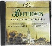 Beethoven;Symphonies 1 + 3